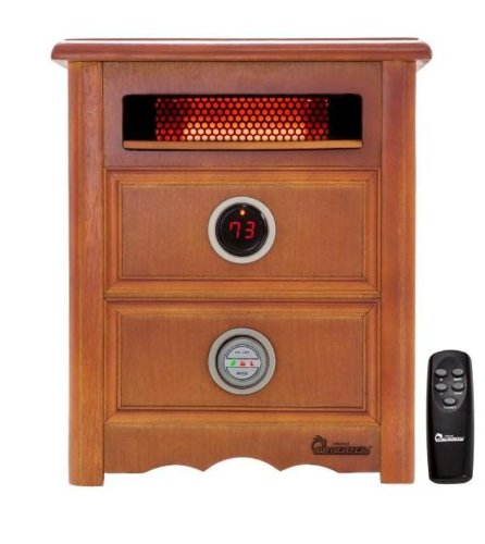 Dr Infrared Heater DR999, 1500W, Advanced Dual Heating System