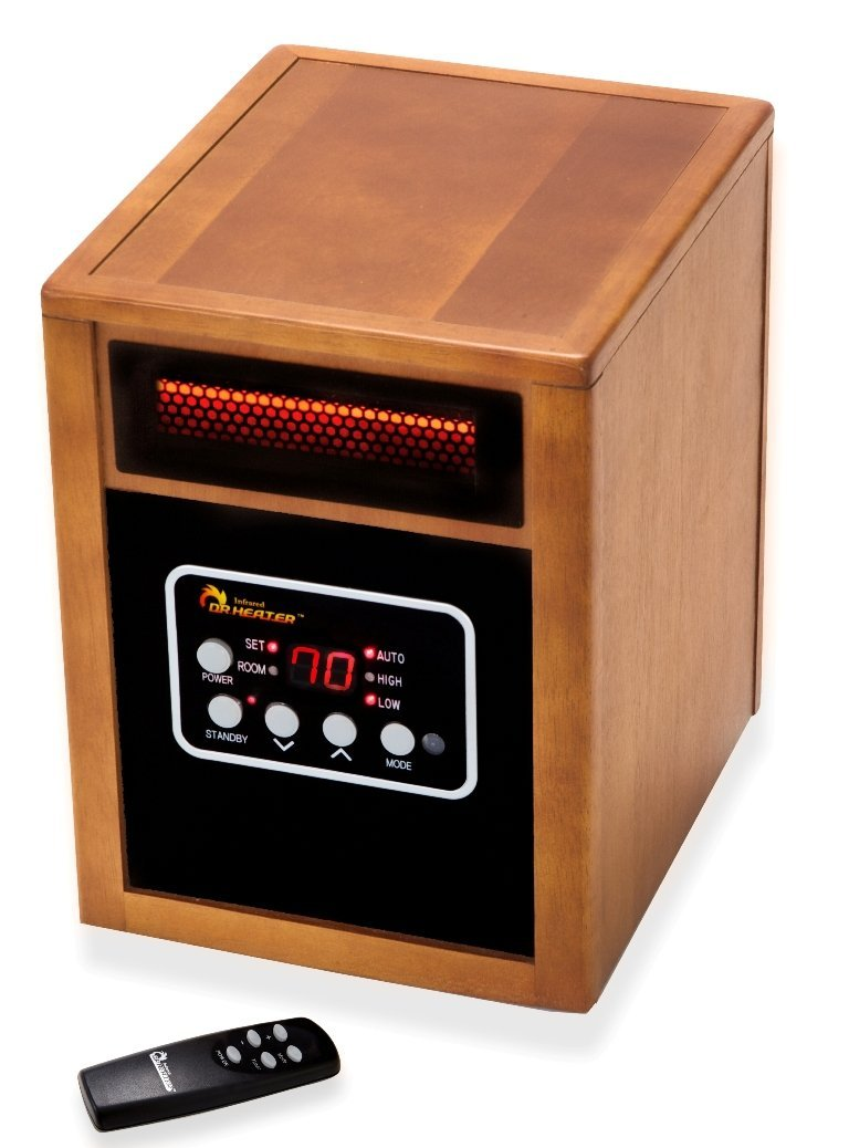Best infrared heater reviews and comparison 2017 for Electric radiant heat efficiency