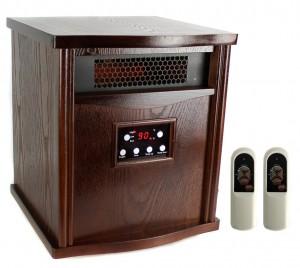 LifeSmart LifePro LS-1000HH 1800 Sq Ft Infrared Quartz Electric Portable Heater