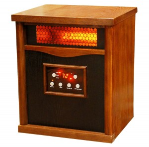 Lifesmart 6 Element Large Room Infrared Quartz Heater